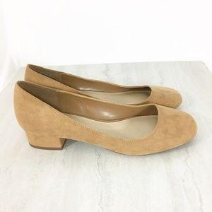 Aldo Square Toe Heels Size 8.5